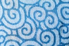 Vattentextur på handduken Royaltyfria Bilder