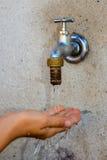 Vattentillförsel Arkivbild