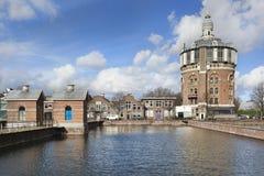 Vattentorn de Esch i Rotterdam Royaltyfria Bilder