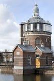 Vattentorn de Esch i Rotterdam Royaltyfri Fotografi