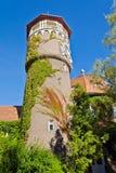 Vattentorn - symbol av staden Svetlogorsk (till Rauschen 1946). Kaliningrad oblast, Ryssland arkivbild