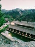 Vattentown i Kina fotografering för bildbyråer