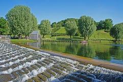 Vattentrappuppgång Royaltyfri Foto