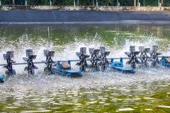 Vattenturbiner Arkivfoton