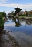 Vattenvägar Arkivfoto