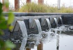 Vattenvattenfalllandskap Arkivfoto