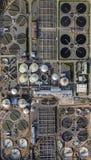 Vattenverkfabrik från över Royaltyfria Bilder