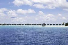 Vattenvillaområde Royaltyfria Bilder