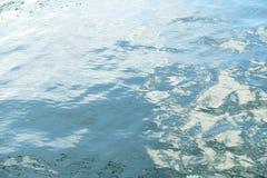 Vattenyttersida med krusningar Royaltyfri Foto