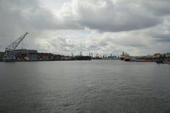 Vattnet av Neva River Arkivbilder