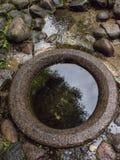 Vattnet väl med vårvatten Royaltyfri Fotografi