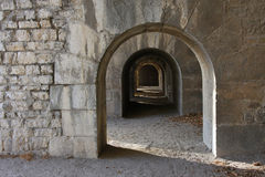 Vauban fortress Stock Photography
