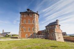 Vauban-Turm, Camaret-sur-MER, Bretagne, Frankreich lizenzfreie stockfotos
