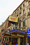 Vaudeville Theatre London England. The Vaudeville Theatre is a West End theatre on the Strand in the City of Westminster. Twice-rebuilt Victorian theatre showing Royalty Free Stock Images
