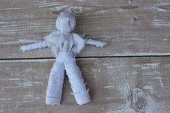 Vaudou de poupée de chiffon Image stock