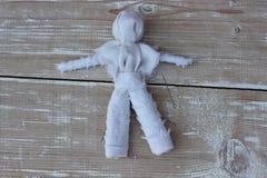 Vaudou de poupée de chiffon Photo libre de droits