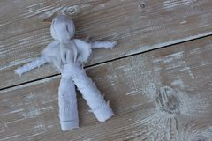 Vaudou de poupée de chiffon Photos stock