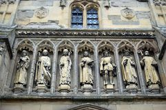 Vaughan Porch Leicester Cathedral imagens de stock royalty free