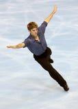 Vaughn CHIPEUR (KAN) het vrije schaatsen Stock Afbeeldingen