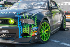 Vaughn Gittin Jr. Mustang Stock Images