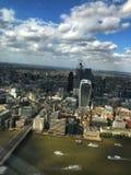 Vaughn w górę widoku na Londyn obraz stock