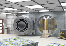 The Vault stock illustration