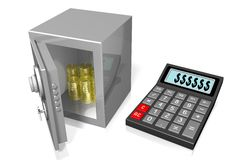 Vault concept Royalty Free Stock Photo