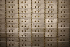 Vault de banco Imagem de Stock