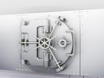 Vault de banco Foto de Stock Royalty Free