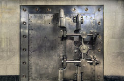 Vault de banco velho largamente foto de stock royalty free