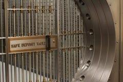 Vault de depósito seguro Foto de Stock