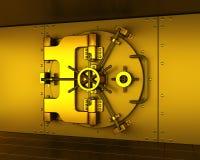 Vault do ouro Fotos de Stock