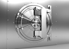 Vault door Royalty Free Stock Photos