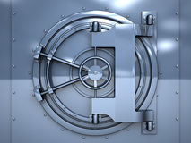 Vault Door Stock Photography