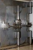 Vault door. High security steel vault door Royalty Free Stock Photo