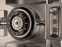 Vault Door, 3D Royalty Free Stock Images