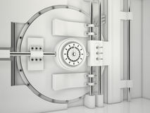 Vault Door, 3D Stock Photos