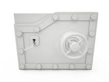 Vault Door, 3D Royalty Free Stock Photography
