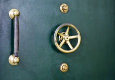 Vault door detail Stock Photography
