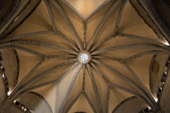 Vault of the hall of the barons Stock Images