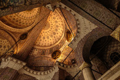 Vault New mosque. Vault of the New Mosque in Istanbul Royalty Free Stock Image