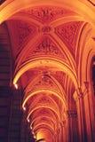 vault Porticoes de Bolonia fotografía de archivo