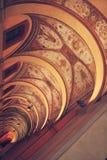 vault Porticoes de Bolonia imagenes de archivo