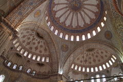 Vault of Sultan Ahmed Mosque, Istanbul Stock Photos