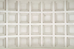 Vaulted Ceiling. A vaulted ceiling as a background Royalty Free Stock Image