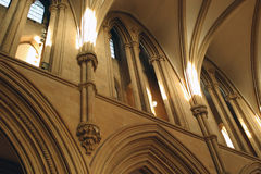 Vaulted Ceiling. Southwell Minster, Nottinghamshire Royalty Free Stock Photography