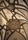 Vaulted ceiling, decoration Royalty Free Stock Images