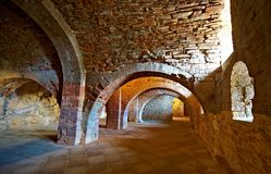 Vaulted Dungeon Royalty Free Stock Photo