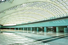 Vaulted hall Royalty Free Stock Photo