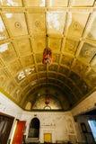 Vaulted Lobby - Abandoned Variety Theater - Cleveland, Ohio royalty free stock photo